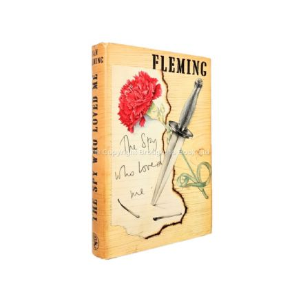 The Spy Who Loved Me by Ian Fleming First Edition Second Impression Jonathan Cape 1962